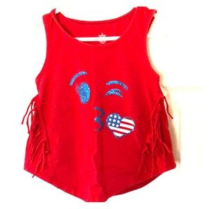 Other - Girls Red Tank Top Size XS 4-5